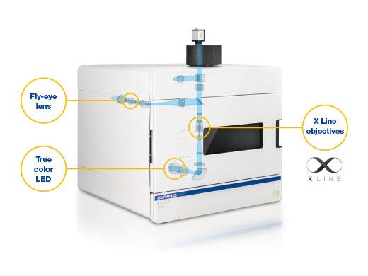 Цифровой слайд-сканер Olympus VS200